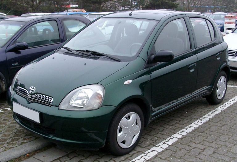 Toyota Yaris onder 1000 euro