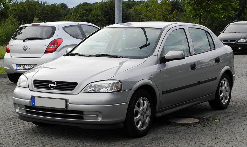 De Opel Astra te koop voor 1000 euro