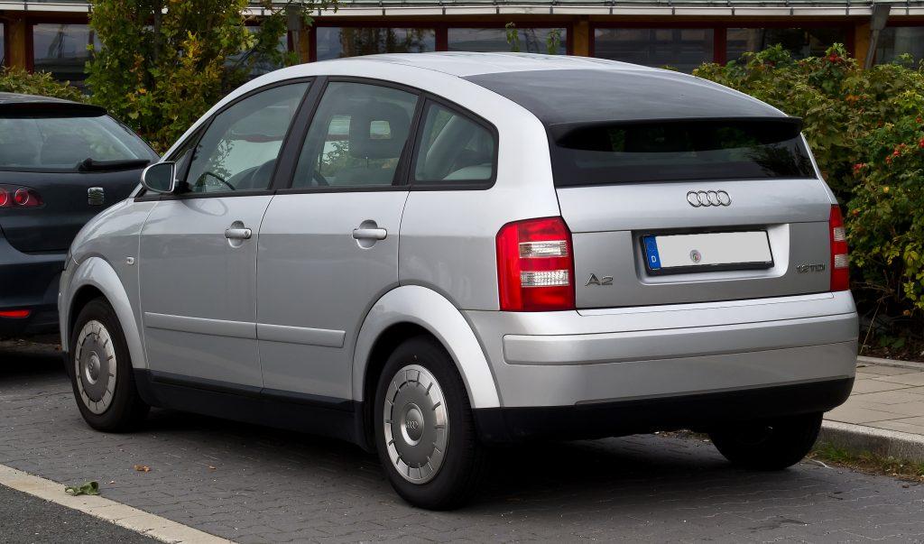 Audi A2 voor 1000 euro