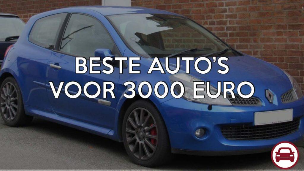 beste auto voor 3000 euro
